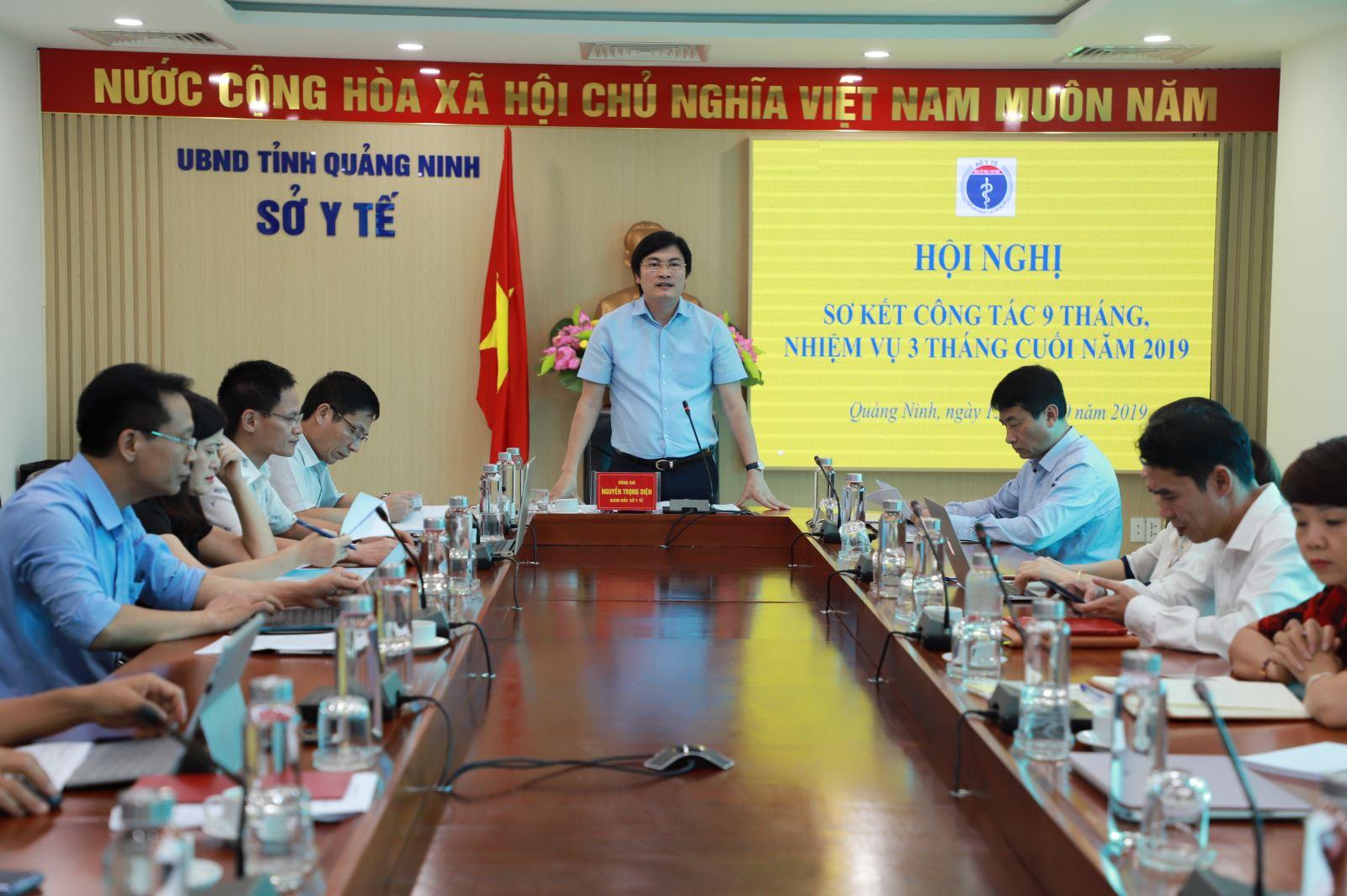 Ngành Y tế Quảng Ninh triển khai nhiệm vụ 3 tháng cuối năm 2019