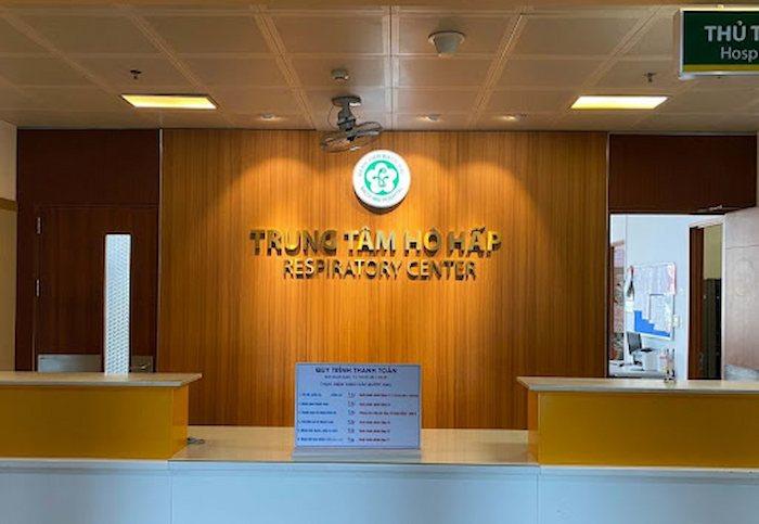 Trung tâm Hô hấp tại bệnh viện Bạch Mai